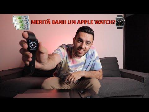 Apple Watch, merită banii? (1400 de lei)