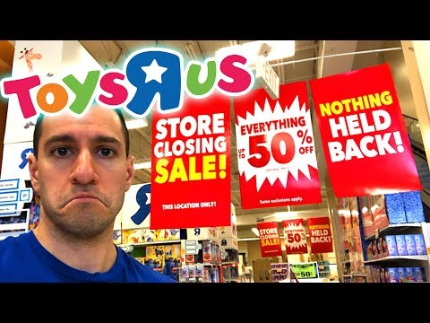 connectYoutube - My LAST Time In Toys R Us! - CHEAP DEALS and POKEMON CARDS!