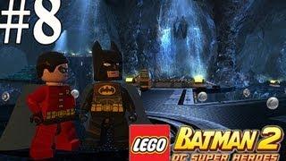 Lego Batman 2 - Walkthrough Part 8 Unwelcome Guests