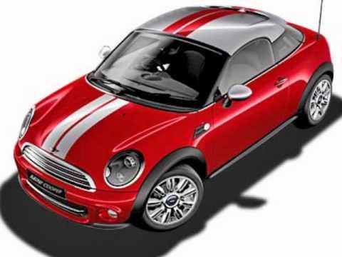 The trendy Mini Cooper Coupe