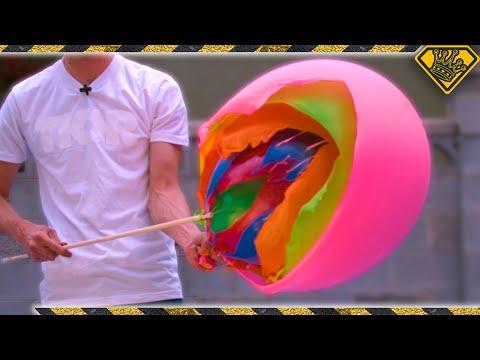 Popping a Balloon Inside A Balloon Inside A Balloon Inside A Balloon