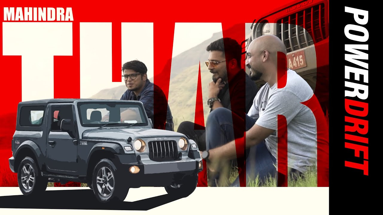 Mahindra Thar | Three Guys Walk Into A Thar… | PowerDrift