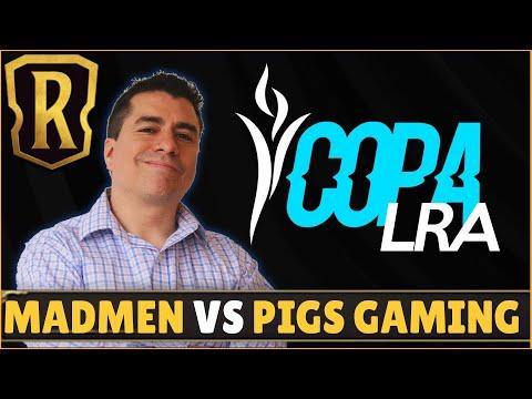 Liga Runaterra de las Americas   Madmen (USA) vs Pigs Gaming (Brasil)