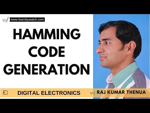 Hamming Code Generation | Hindi/ Urdu | Digital Electronics by Raj Kumar Thenua