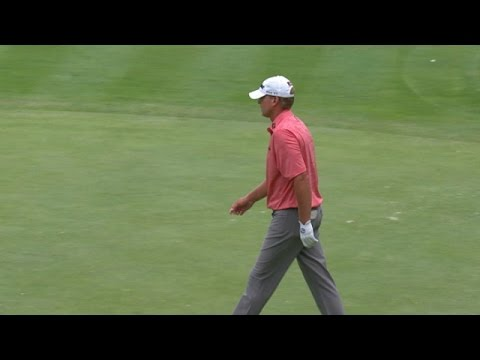 Steve Stricker finishes Round 1 in style at PGA Championship
