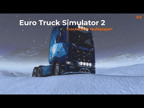 Euro Truck Simulator 2  TruckersMP  Part 35 Opname 04012018