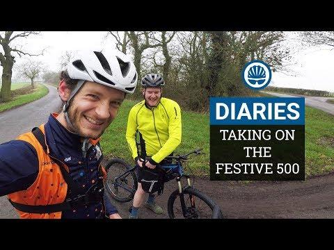 We Go Deep (& Crash) Attempting the Festive 500 | BikeRadar Diaries #5