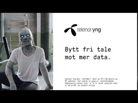Telenor Yng - Bytt fri tale mot ekstra data med Data Switch