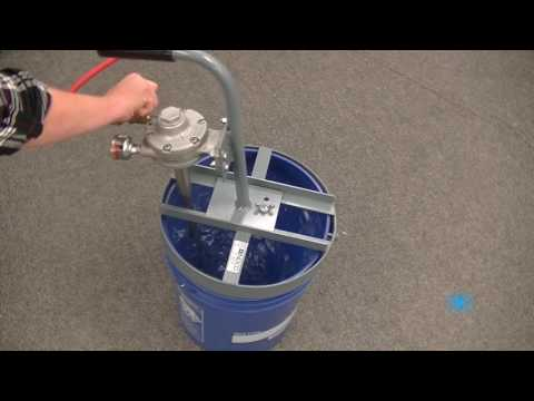 5 Gallon MAT-Q 3/4 HP Air Powered Pail Quic Mixers