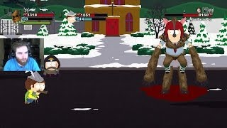 I FOUND MANBEARPIG - South Park The Stick of Truth Walkthrought Part 14 (Manbearpig)