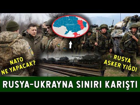 Rusya'dan Büyük Askeri Yığınak! NATO Ukrayna'yı Destekleyecek mi?