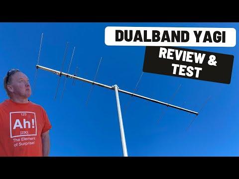 2m/70cm Dualband Yagi Review | Antennas-Amplifiers #YTHF21