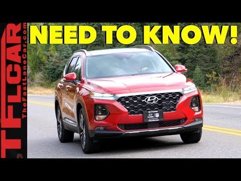 Here are the Top Ten Differences Between the Old 2018 and New 2019 Hyundai Santa Fe