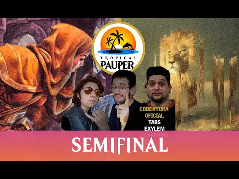UW Familiar VS Jeskai Ephemerate - Tropical Pauper - Narração ao vivo - Semifinal