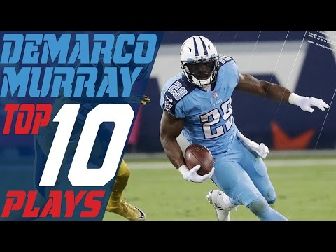 DeMarco Murray's Top 10 Plays of the 2016 Season | NFL Highlights