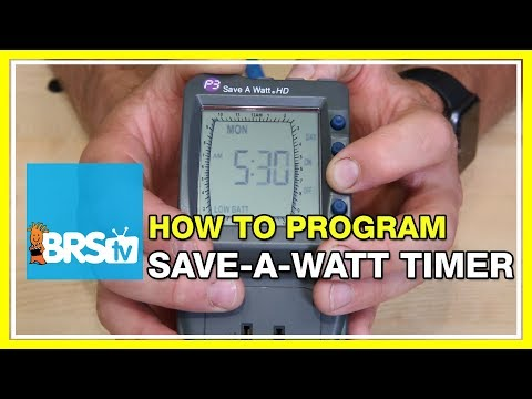 How to program a Save-A-Watt Timer | BRStv How-To