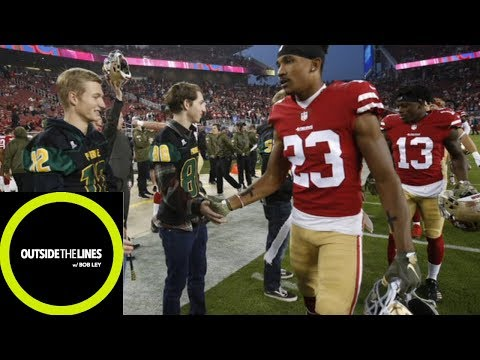 49ers surprise HS team affected by California wildfires with trip to MNF | Outside the Lines