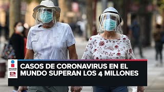 Covid-19: Contagios en el mundo superan los 4 millones y medio