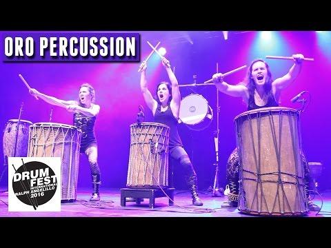 Joannie Labelle & ORO Percussion - 2016 Drum Festival International Ralph Angelillo