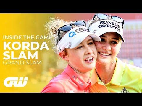 The Korda Slam: Through the Eyes of Nelly & Jessica | Inside The Game | Golfing World