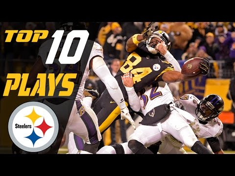 Steelers Top 10 Plays of the 2016 Season | NFL Highlights