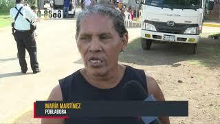 Cambian el rostro al barrio Carlos Núñez, en Managua, con nuevas calles - Nicaragua
