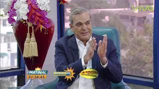 Luis Abinader Entrevista Propuestas Candidato Presidencial por el PRM Matinal