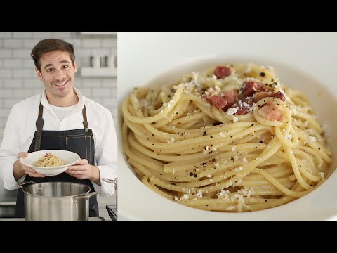 The Trick to Luscious and Creamy Carbonara - Kitchen Conundrums with Thomas Joseph