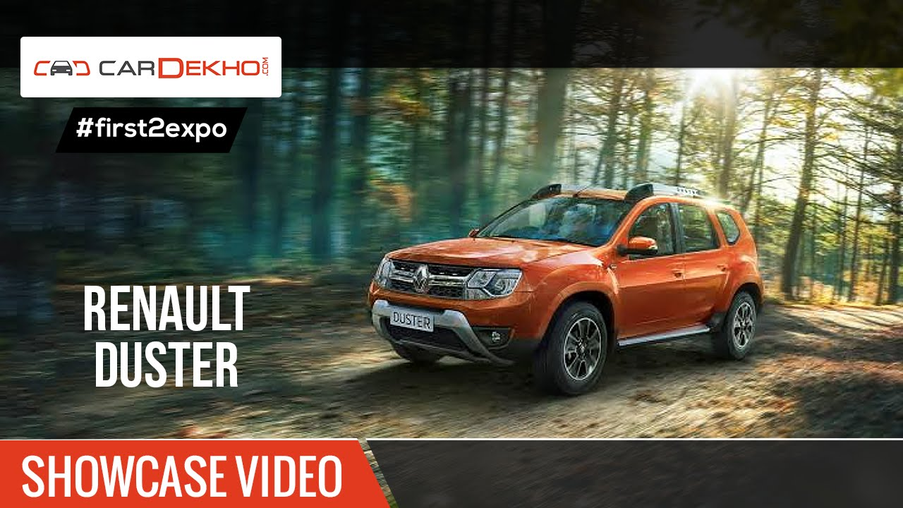 #first2expo | 2016 Renault Duster | Showcase Video | CarDekho@AutoExpo2016