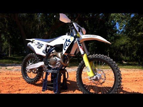 First Ride 2019 Husqvarna FC450 - Motocross Action Magazine