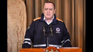 Presidente Alejandro Giammattei realizó un balance de la lucha contra el COVID-19