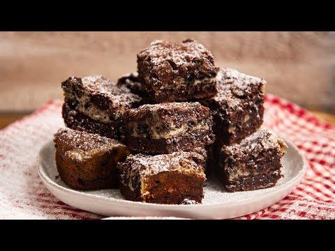Cookies & Cream Cheesecake Brownies | Ep. 1334