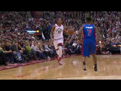 DeMar DeRozen Pours in 29 Vs. the Pistons