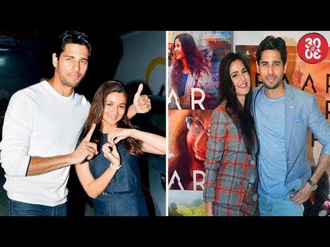 Sidharth Talks About Link Up With Alia | Katrina Offers Sidharth Piggybacks And Cuddles
