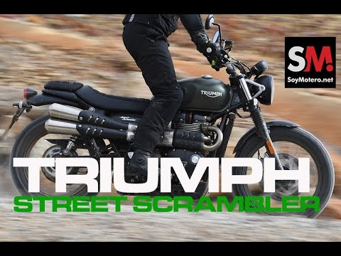 Triumph Street Scrambler 2017: Prueba Moto Neoclásica [FULLHD]