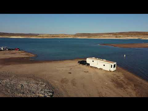 Elephant Butte Lake Water Levels are Dipping