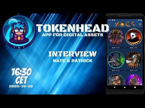 TokenHead | App for digital assets -- Interview