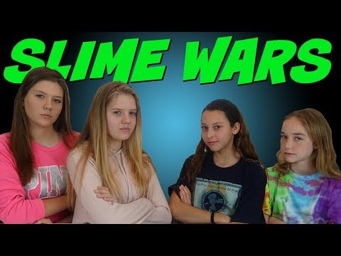 connectYoutube - SLIME WARS TAYLOR & VANESSA VS KENDALL & MIMI    SLIME CHALLENGE    Taylor and Vanessa
