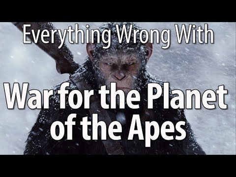 connectYoutube - Everything Wrong With War For The Planet Of The Apes