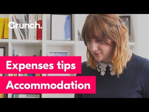 Expenses tips - Accommodation
