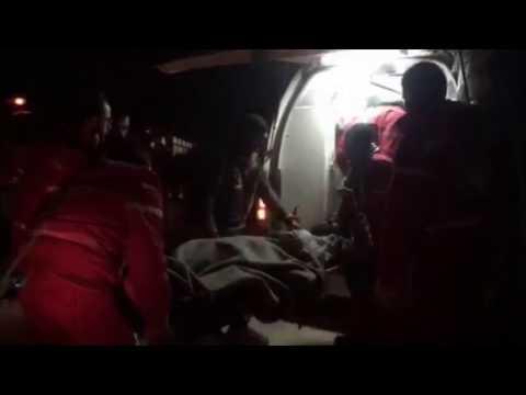 Här evakuerar vi från östra Aleppo