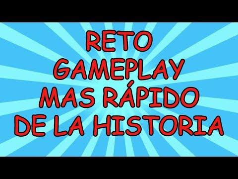 RETO GAMEPLAY MAS RAPIDO DE LA HISTORIA JANDRO LION