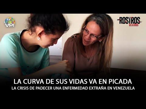El drama de padecer una extraña enfermedad en Venezuela - Rostros de la Crisis