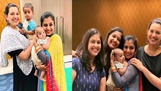 Singer Geethamadhuri Fun With Friends | Singer Geetha Madhuri's Friends - RAJSHRITELUGU
