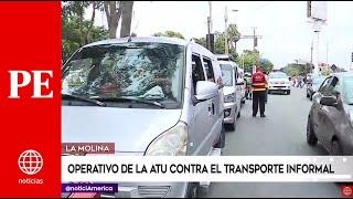 Primera Edición: Operativo contra el transporte informal en La Molina