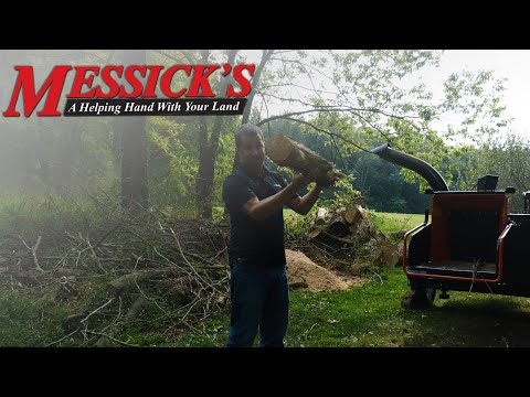 BearCat Wood Chipper - Review and Operation Picture