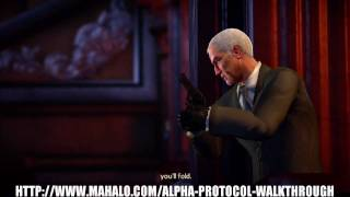 Alpha Protocol Walkthrough - Boss Fight: Marburg