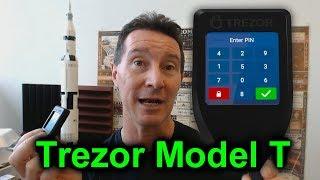 EEVblog #1062 - Trezor Model T Hardware Wallet Review