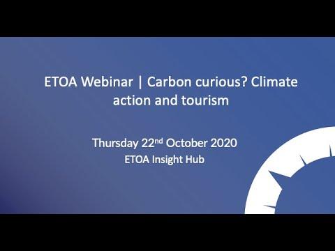ETOA Webinar | Carbon curious? Climate action and tourism