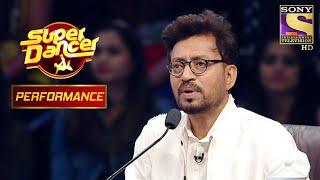 "Shagun And Vivek's ""Reverse-Act"" Performance Stunned Irrfan Khan | Super Dancer Chapter 2 - SETINDIA"